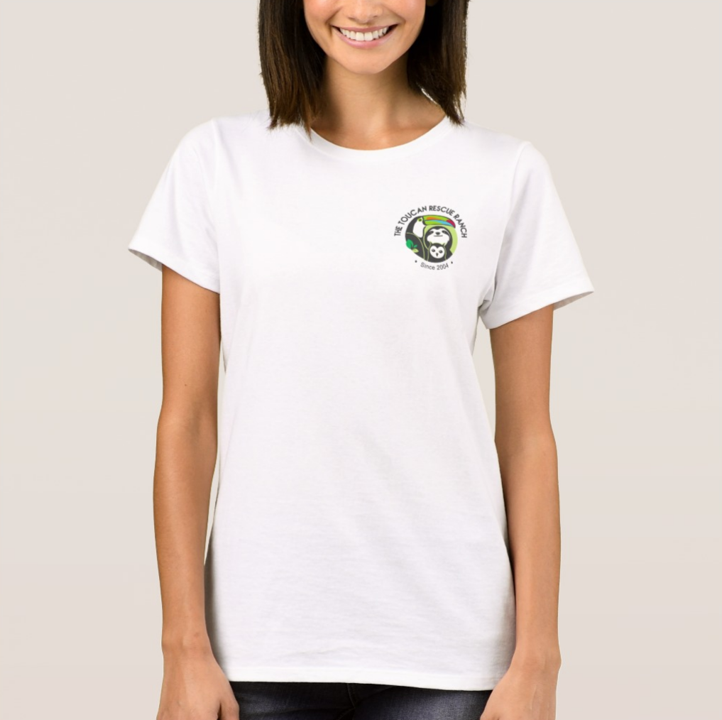 Lovely Pocket Logo T-shirt – Toucan Rescue Ranch FY73